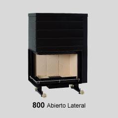 Modelo Ferlux 800 Bloque Open lateral 14Kw.